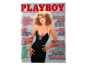 Playboy Magazine Bernadette Peters December 1981