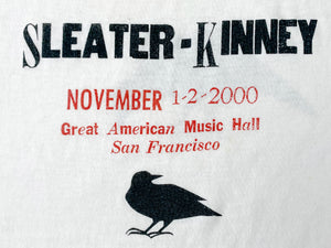 Sleater Kinney Live SF 2000 T-Shirt
