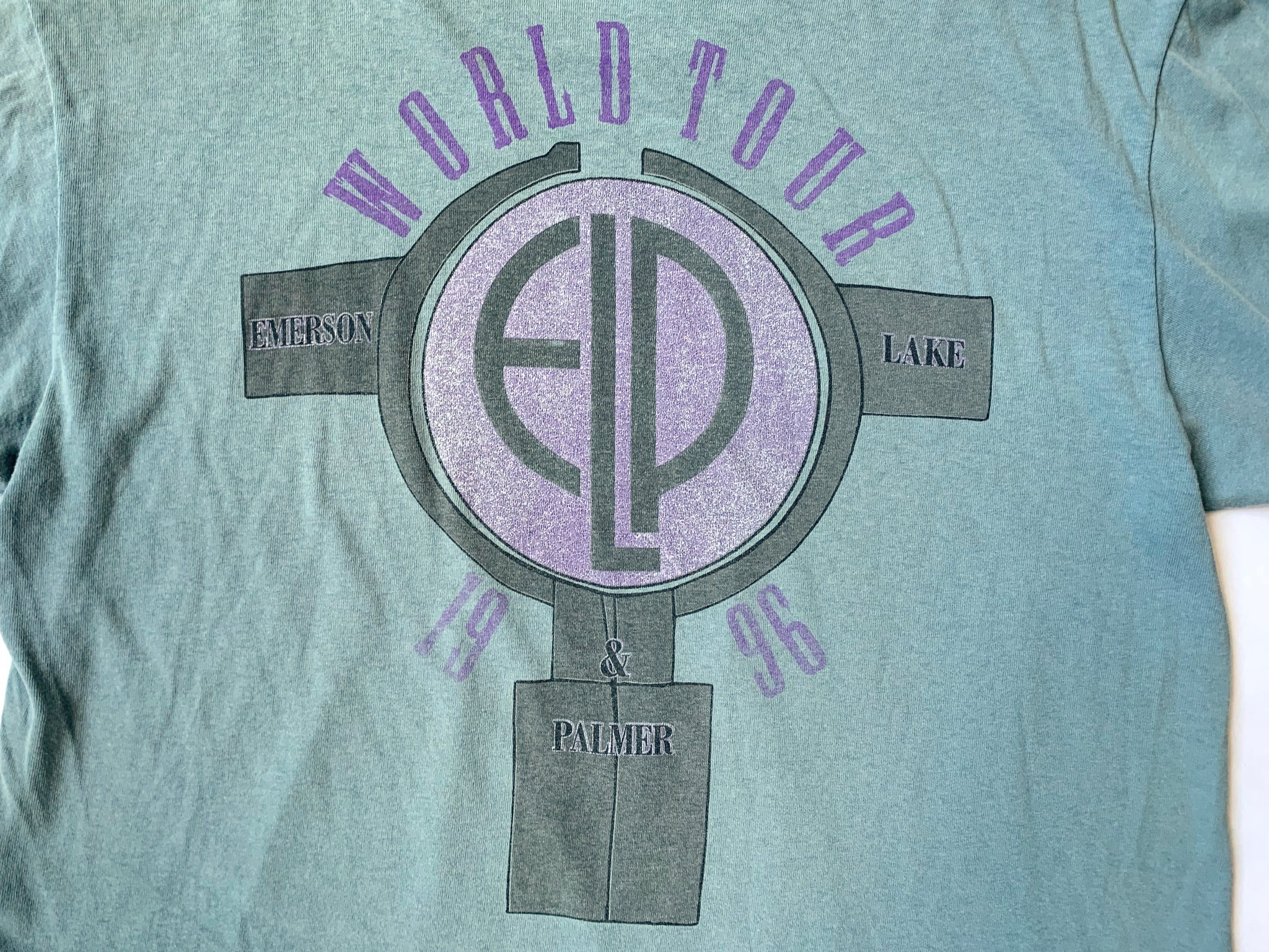 Emerson, Lake & Palmer Brain Salad Surgery Tour T-Shirt