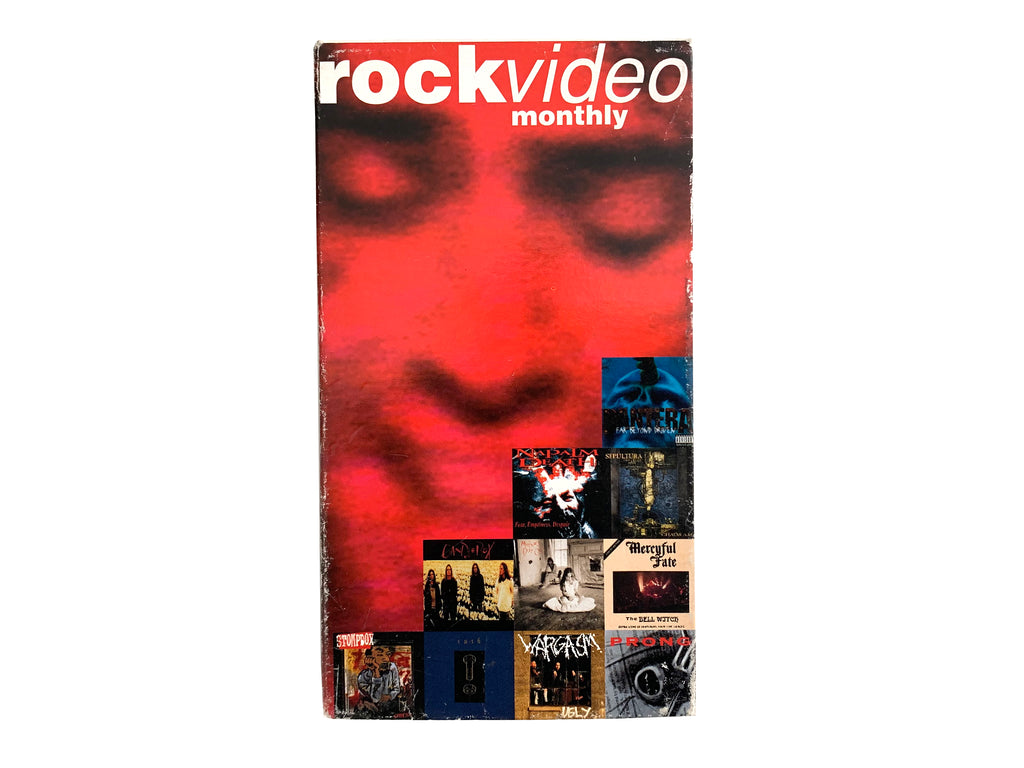 Rock Video Monthly September 1994 VHS
