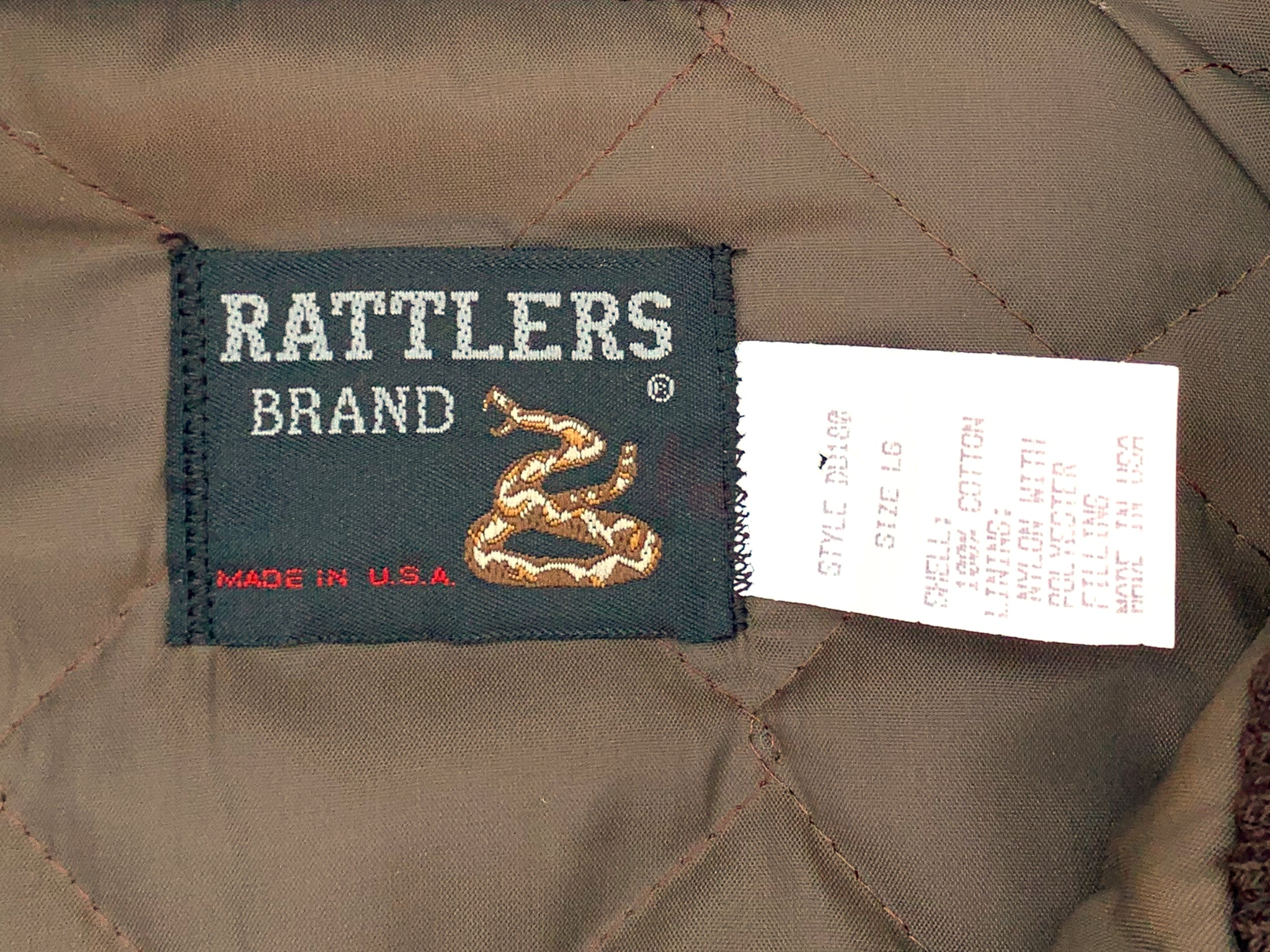 Rattlers Ducks Unlimited Camo Jacket