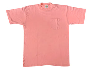 Wright's Peach Blank Pocket T-Shirt