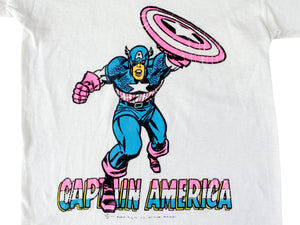 Captain America Iron On T-Shirt