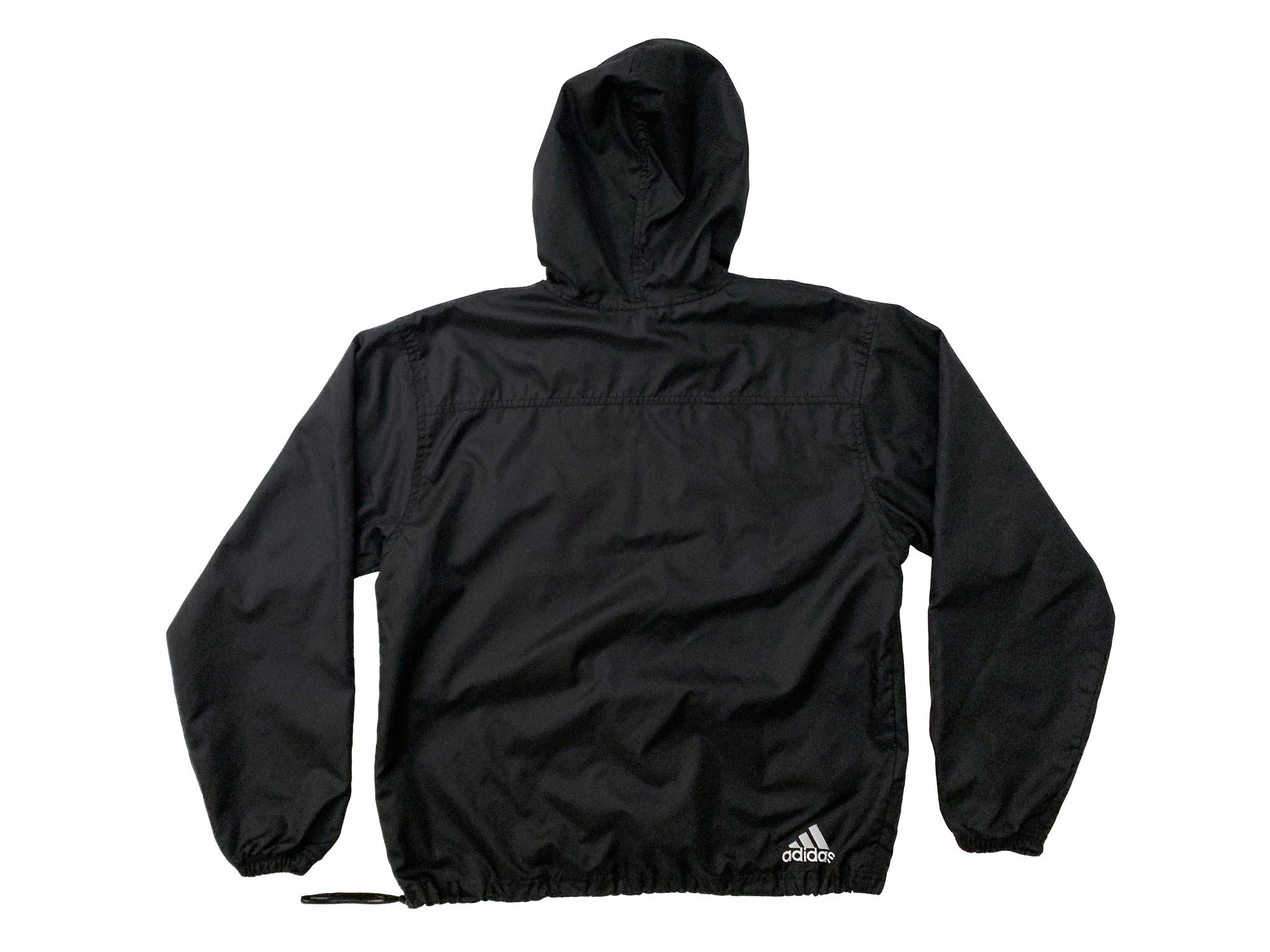 Adidas Quarter Zip Hooded Windbreaker