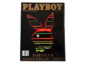Playboy Magazine January 1994 40th Anniversary