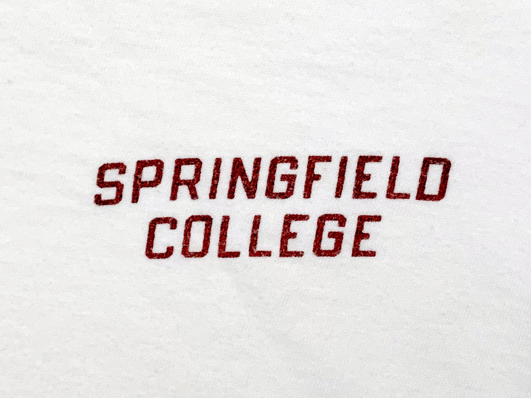 Champion Springfield College Ringer T-Shirt