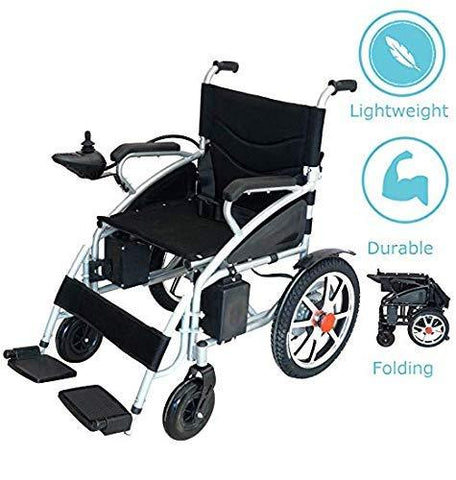 2020 Model Fold & Travel Lightweight Electric Wheelchair Motor Motorized Wheelchairs Electric Silla De Ruedas Power Wheelchair Power Scooter Aviation Travel Safe Heavy Duty Mobility Aids - Spirit Mobility