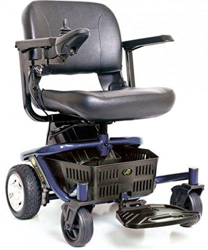 Golden Technologies - LiteRider Envy - Compact Power Chair - Blue - Spirit Mobility