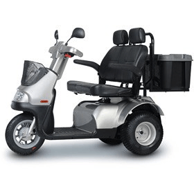 Afikim Afiscooter S Plus 3 Wheel Full Size Mobility Scooter - Spirit Mobility