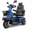 Image of Afikim Afiscooter C3 Wheel Mid Size Mobility Scooter - Spirit Mobility