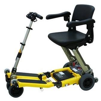 Luggie FreeRider Elite Folding Scooter - Spirit Mobility