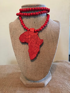 Africa Pendant Necklaces