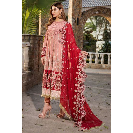 2457-WAX-FLOWER EMBROIDERED LAWN UNSTITCHED