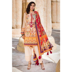 2517-MEDIUM-WOOD DIGITAL PRINTED LAWN UNSTITCHED