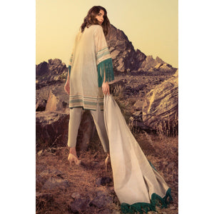 2 Piece Printed Lawn Suit With Lawn Dupatta sheikhnstyle