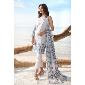 2 Piece Printed Suit with Lawn Dupatta sheikhnstyle