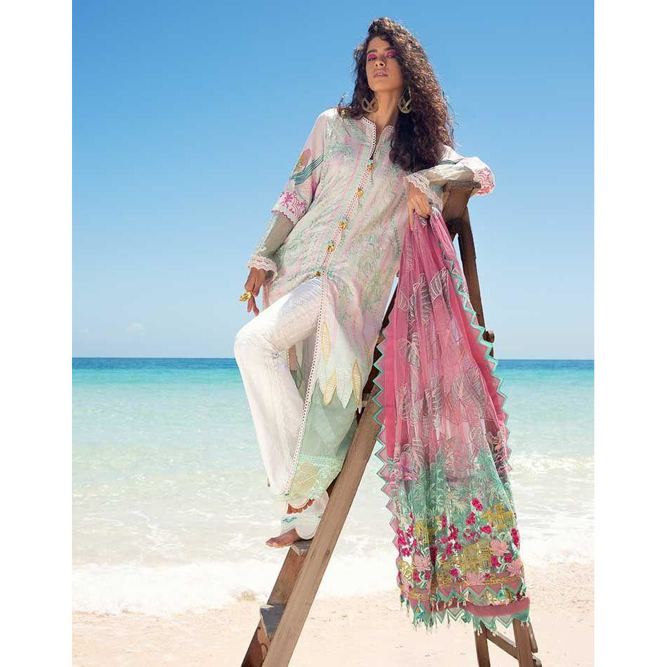 SS-107-UNSTITCHED LUXURY LAWN
