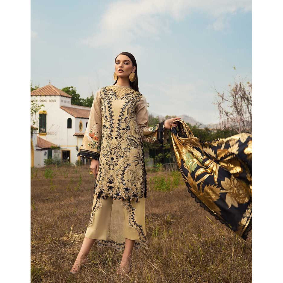 SS-111-UNSTITCHED LUXURY LAWN
