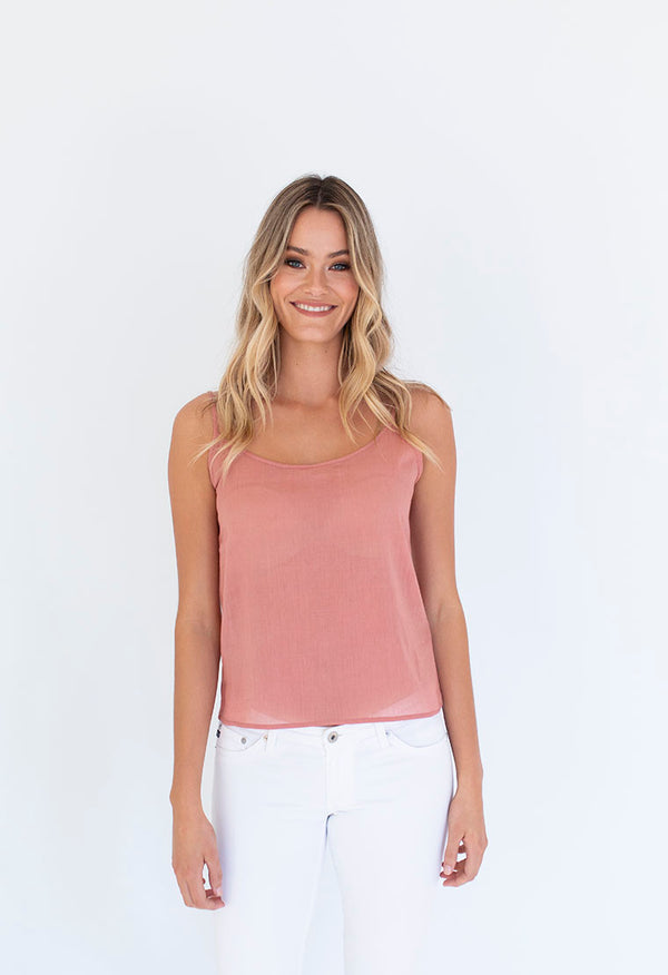 COTTON SLIP CAMI