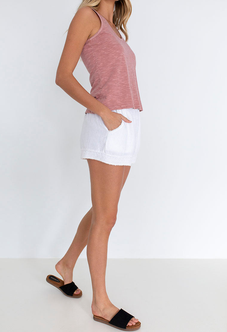 SEA SIDE LINEN SHORT