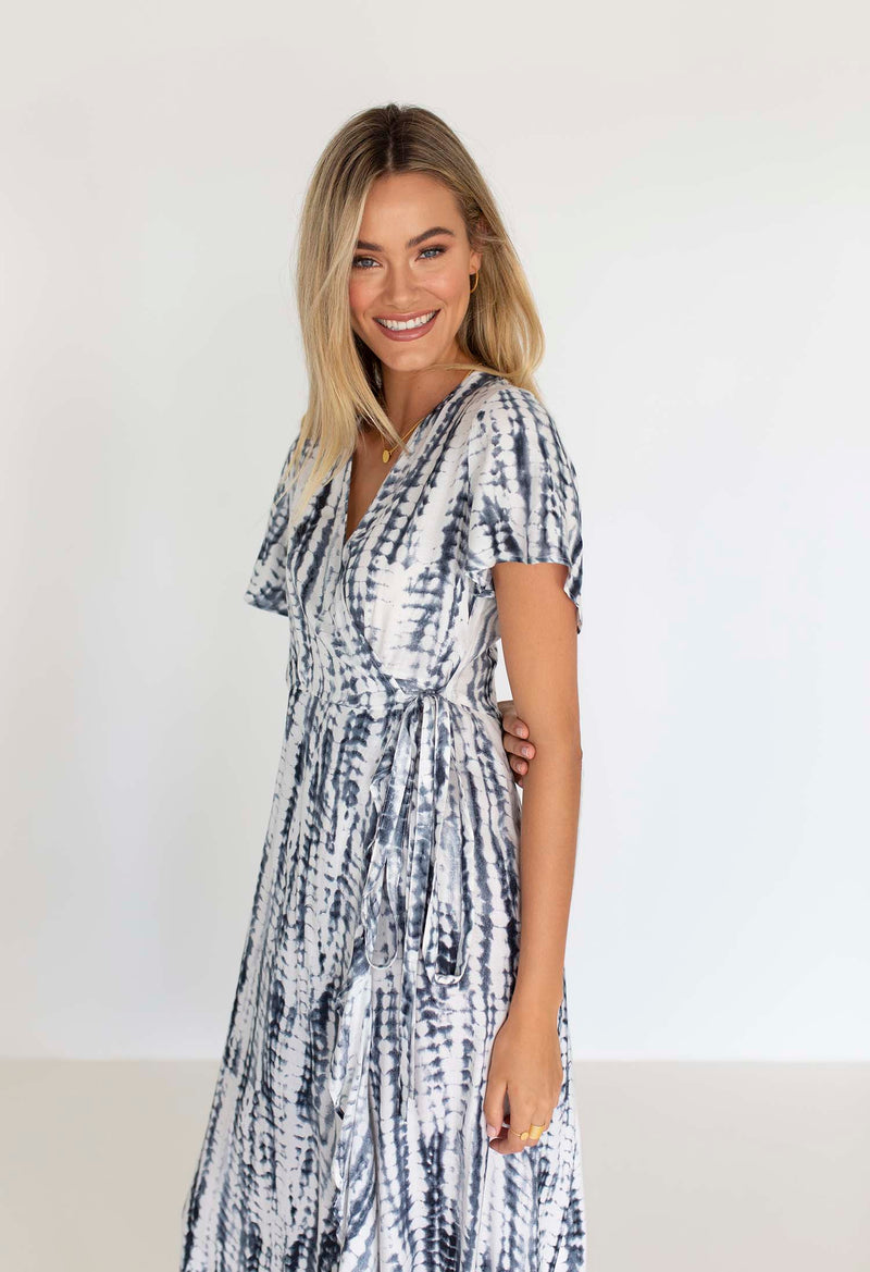 JESSIE WRAP DRESS
