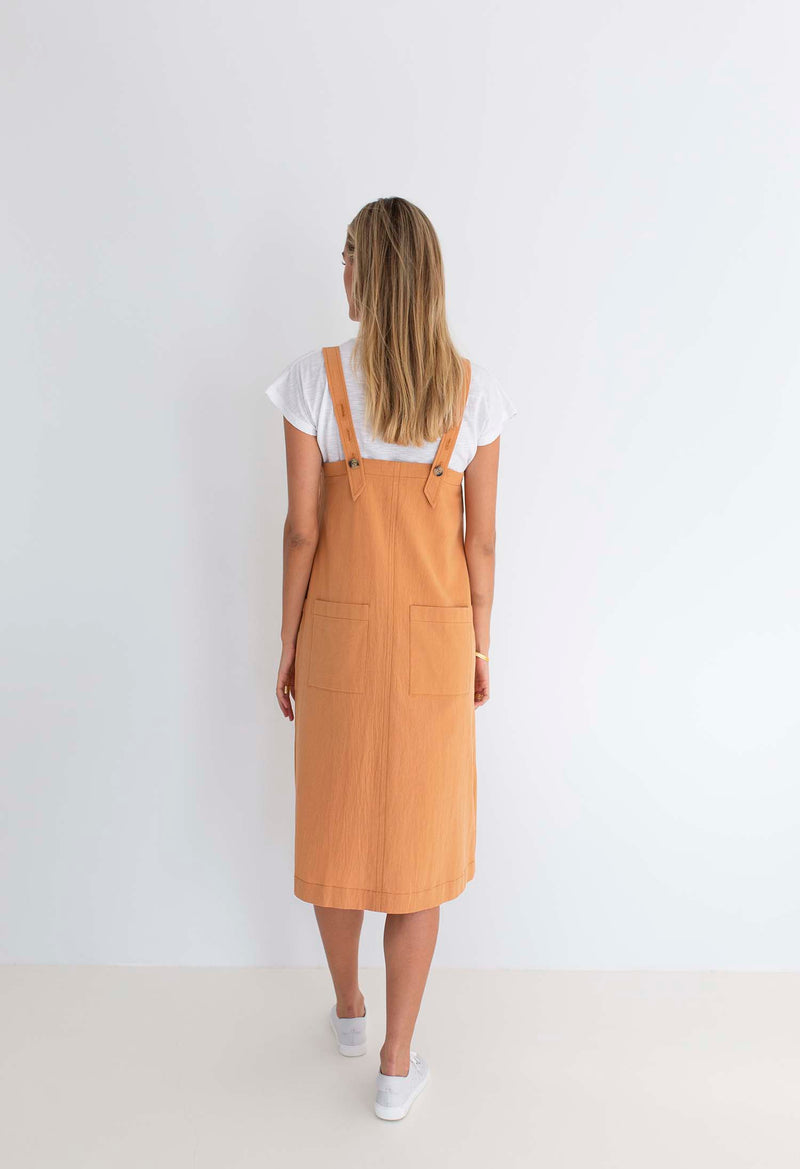 POPPY PINAFORE DRESS