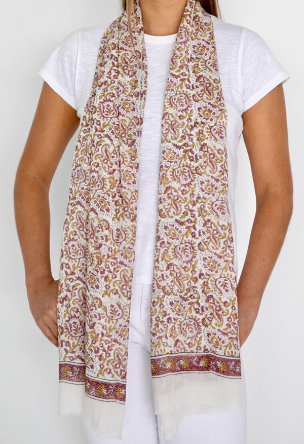 COTTON FIELDS SCARF