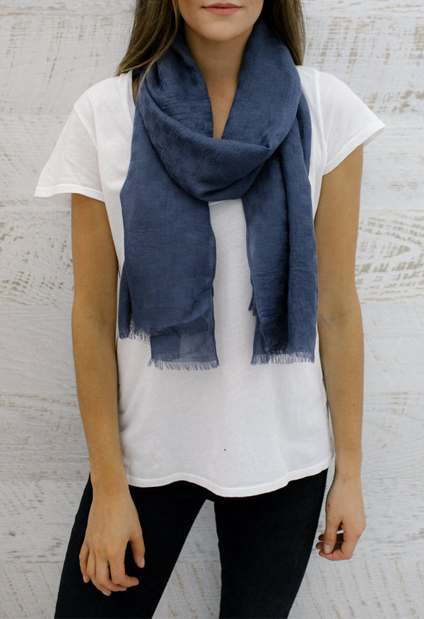 EVERYDAY CHECK SCARF