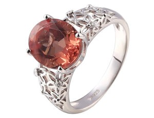 Zultanite Silver Ring Women Special Design Ring 6 Carats