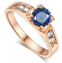 Load image into Gallery viewer, 6 Items Classical Cubic Zirconia Forever Wedding Ring