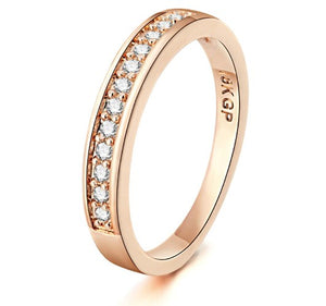 TOP QUALITY Classic Rose Gold Ring