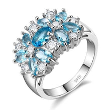 Load image into Gallery viewer, Silver Sparkling Rings