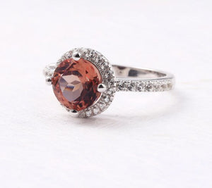 Zultanite Silver Ring Women Fashion Silver Jewelry 2.3 Carats