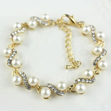 Load image into Gallery viewer, Popular ornaments white pearl bracelet