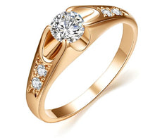 Load image into Gallery viewer, Rose Gold Color Mounting Ring