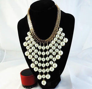 Hesiod Ruili fashion pearl necklace Handmade
