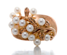Load image into Gallery viewer, NEW BRAND Freshwater Cultured Pearl Silver Ring
