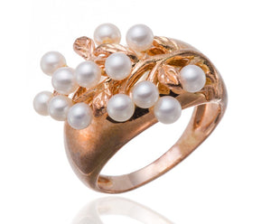 NEW BRAND Freshwater Cultured Pearl Silver Ring