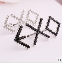 Load image into Gallery viewer, 2018 hot! Rhinestone Double Ring