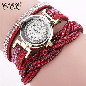 New Fashion Casual Quartz Women Rhinestone Watch