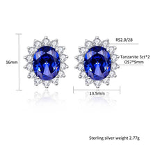 Load image into Gallery viewer, Luxury Jewelry Sets Shiny CZ Blue Tanzanite