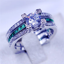 Load image into Gallery viewer, 12 colors wedding band rings
