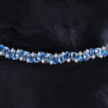 Load image into Gallery viewer, Luxury 23ct Multi London Blue Bracelet