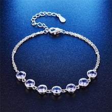 Load image into Gallery viewer, Women Tanzanite Bracelet