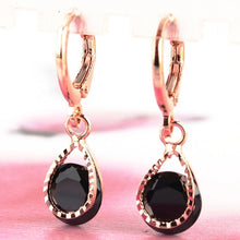 Load image into Gallery viewer, Trendy Water Drop CZ Crystal Earrings for Women