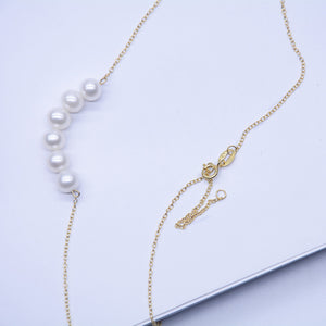 18k gold Smile Chain
