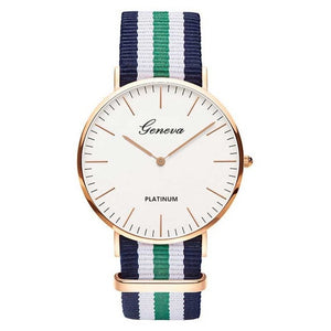Hot Sale Nylon strap Style Quartz Women Watch