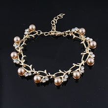 Load image into Gallery viewer, Wedding Pearl Bracelet in 5 Colors