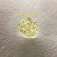 Load image into Gallery viewer, Yellow Diamond GIA Certified VS2 Fancy