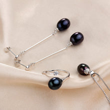 Load image into Gallery viewer, 2019 Hot selling Black Pearl Jewelry sets Fashion LOWEST PRICE